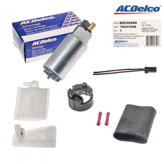 Acdelco Electric Fuel Pump Bgv00268 For Ford Contour Probe Tempo Taurus 86 99