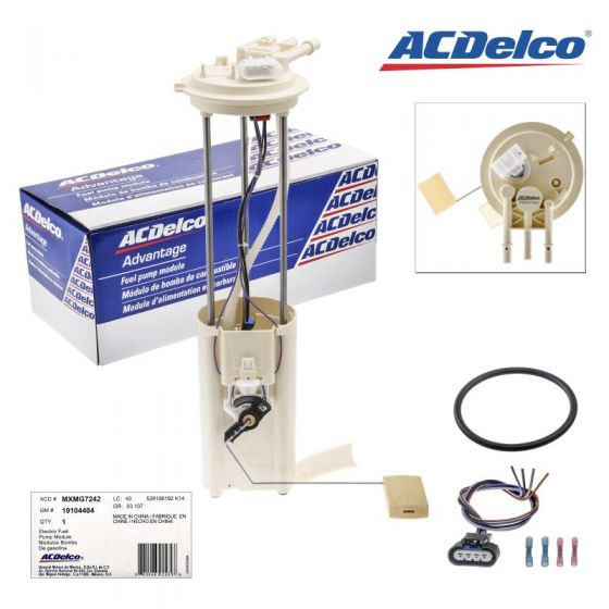 New AcDelco Fuel Pump MXMG7242 Fits Chevy & GMC C1500, K1500, C2500, K2500