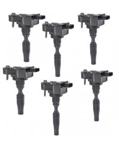 Set of 6 Aftermarket Ignition Coil 12666339 For Cadillac Buick Chevrolet GMC