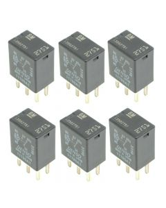 Set of 6 Aftermarket Accessory Power Relay 13502751 For Chevrolet Buick 94-17
