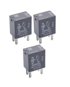Set of 3 Denso Accessory Power Relay 13502752 For Chevrolet Pontiac Saturn 95-09