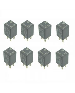 Set of 8 Denso - GM Power Relay 13502753 For Chevrolet Cadillac Buick 07-19