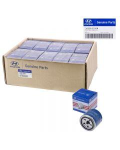 Set Of 40 Genuine OEM 26300-35504 Oil Filter For Hyundai Accent Elantra 72-16