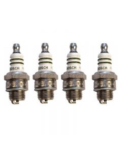 Set of 4 Bosch Spark Plug 7538 For Fiat Crosley Volvo Jeep Willys Allstate 42-72