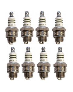 Set of 8 Bosch Spark Plug 7538 For Fiat Crosley Volvo Jeep Willys Allstate 42-72