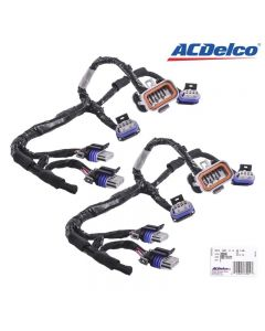 Set of 2 ACDelco Ignition Coil Lead Wiring Harness For D580