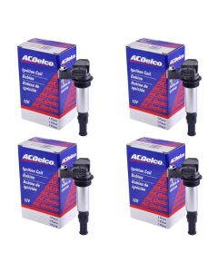 Set of 4 AcDelco Ignition Coil BS-C1508 For Cadillac Chevrolet Saab Buick 04-09