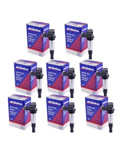 Set of 8 AcDelco Ignition Coil BS-C1508 For Cadillac Chevrolet Saab Buick 04-09