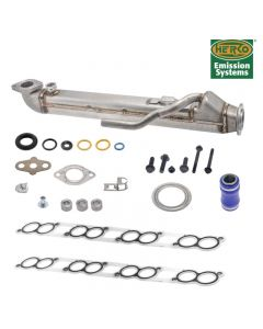 Straight Tube Upgraded EGR Cooler/Gasket Kit For F250 F350 F450 F550 DIESEL