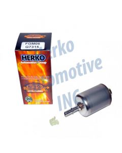 Herko Fuel Filter FGM06 For Pontiac Chevrolet Oldsmobile Buick Cadillac 92-05