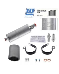 Walbro Electric Fuel Pump GCL611 inline 255LPH 600HP (GSL392 and kit)