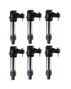 Set of 6 Delphi Ignition Coil GN10494 For Buick Cadillac Chevrolet GMC 9-5 07-13