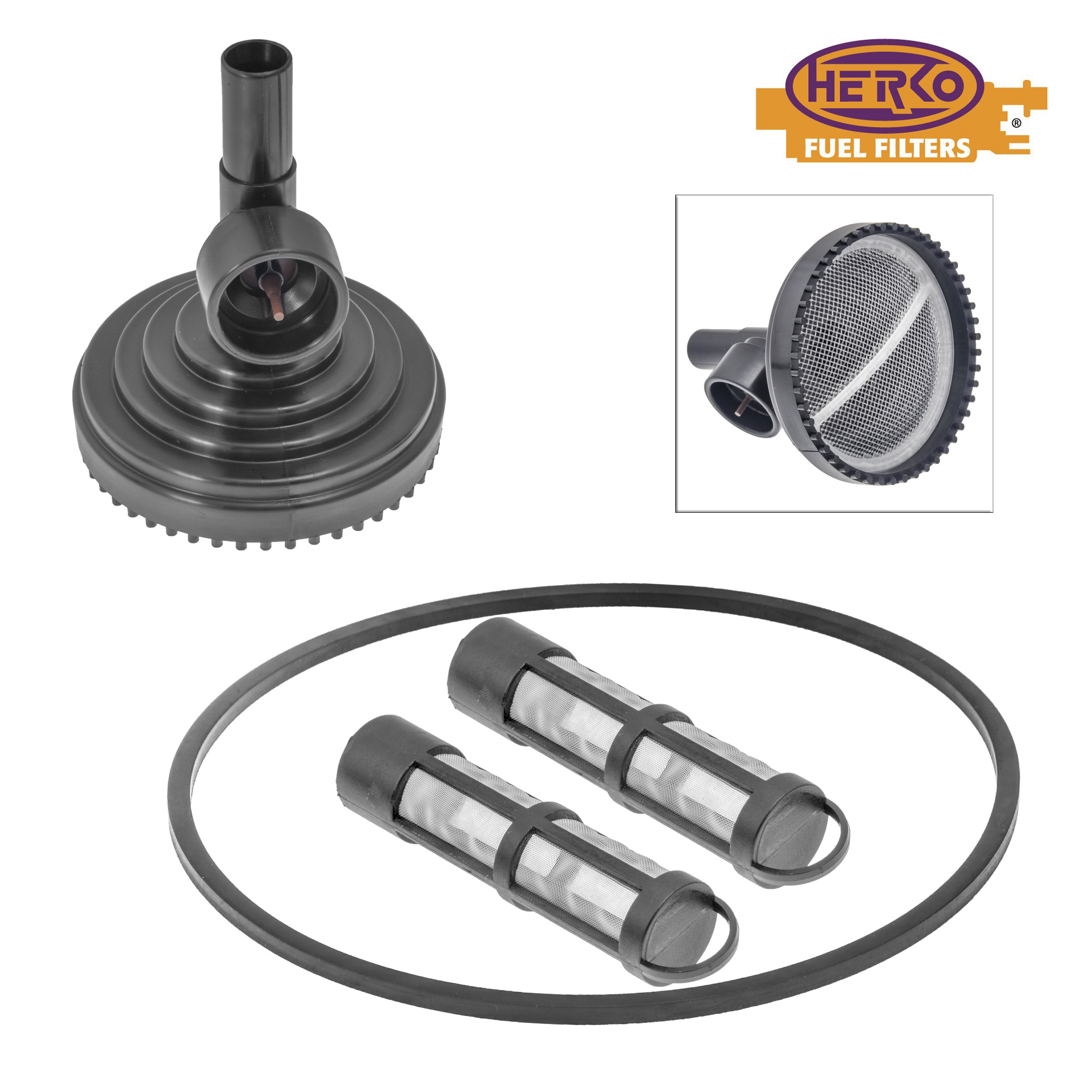 Herko Diesel Fuel Strainer Fs577 For Ford 60l 73l 1990 2008 Ebay Strainers And Filters Description