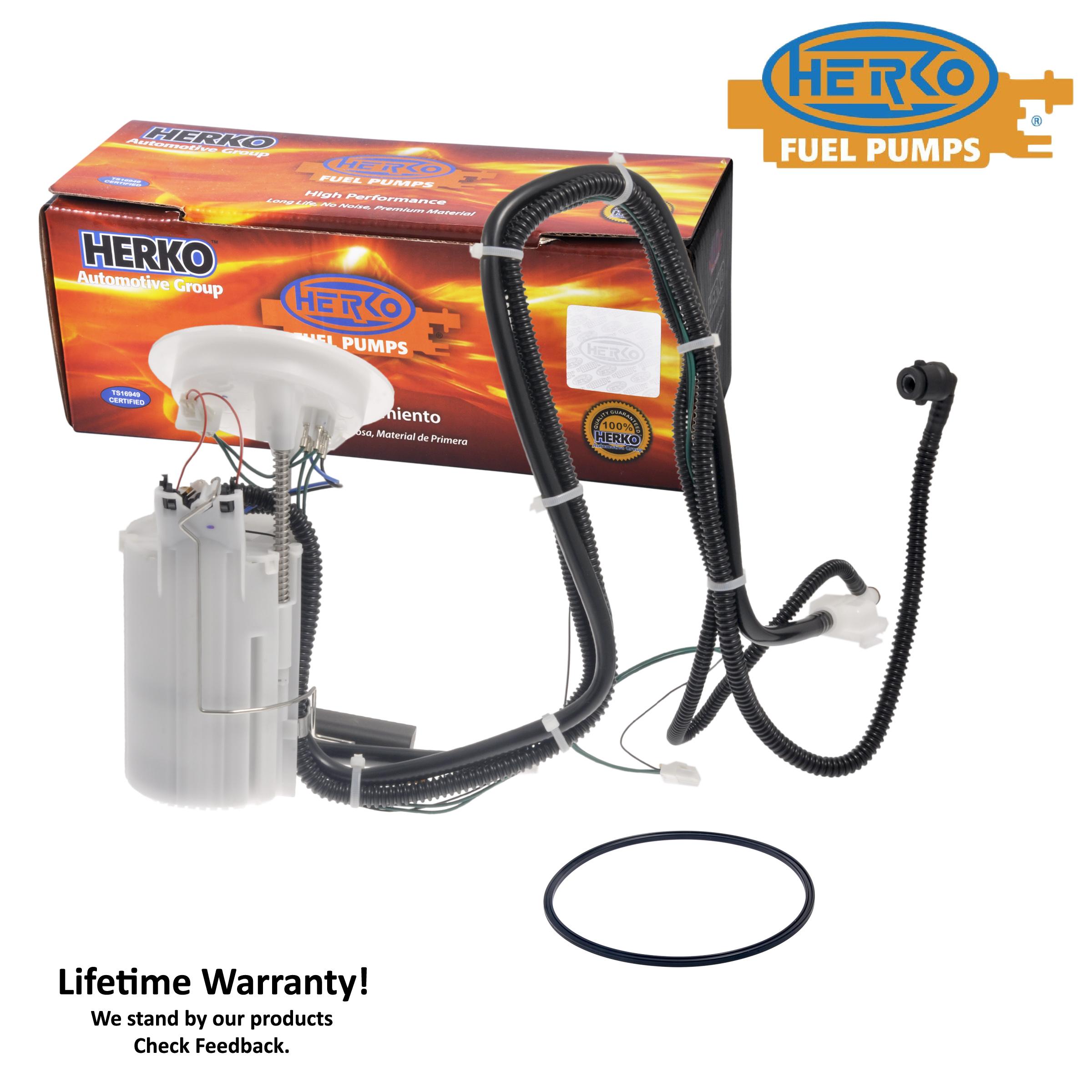 Fuel Pump Module Herko 325GE For BMW 525 528 530 550 L6-3.0L V8-4.8L 2006-2010