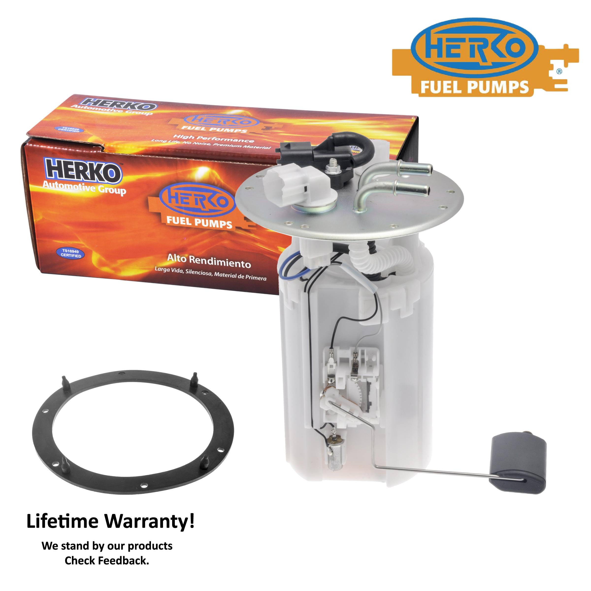 Fuel Pump Module Herko 338ge For Kia Sedona Ex Lx 3 5l V6