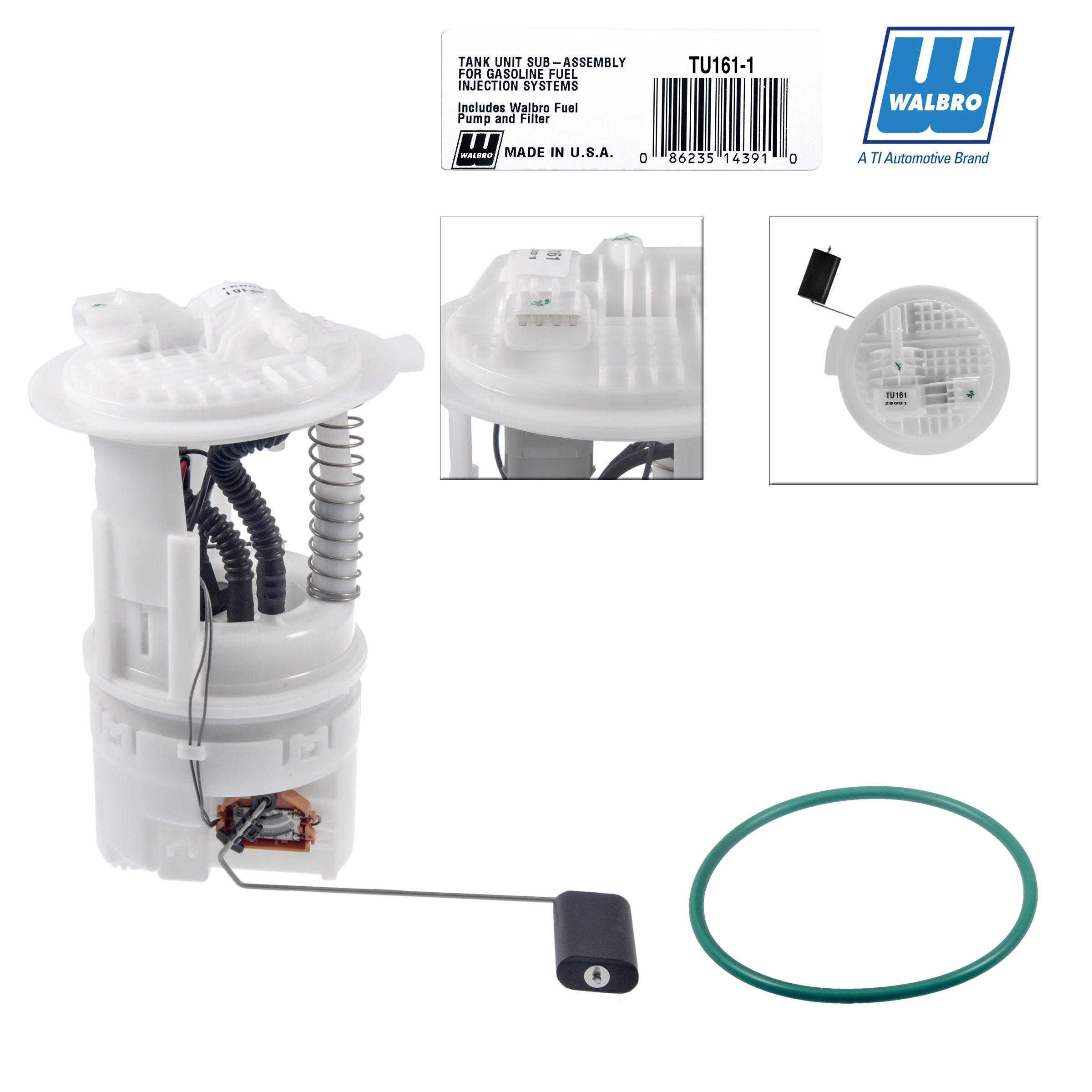 New High Performance Walbro Fuel Module Assembly TU161