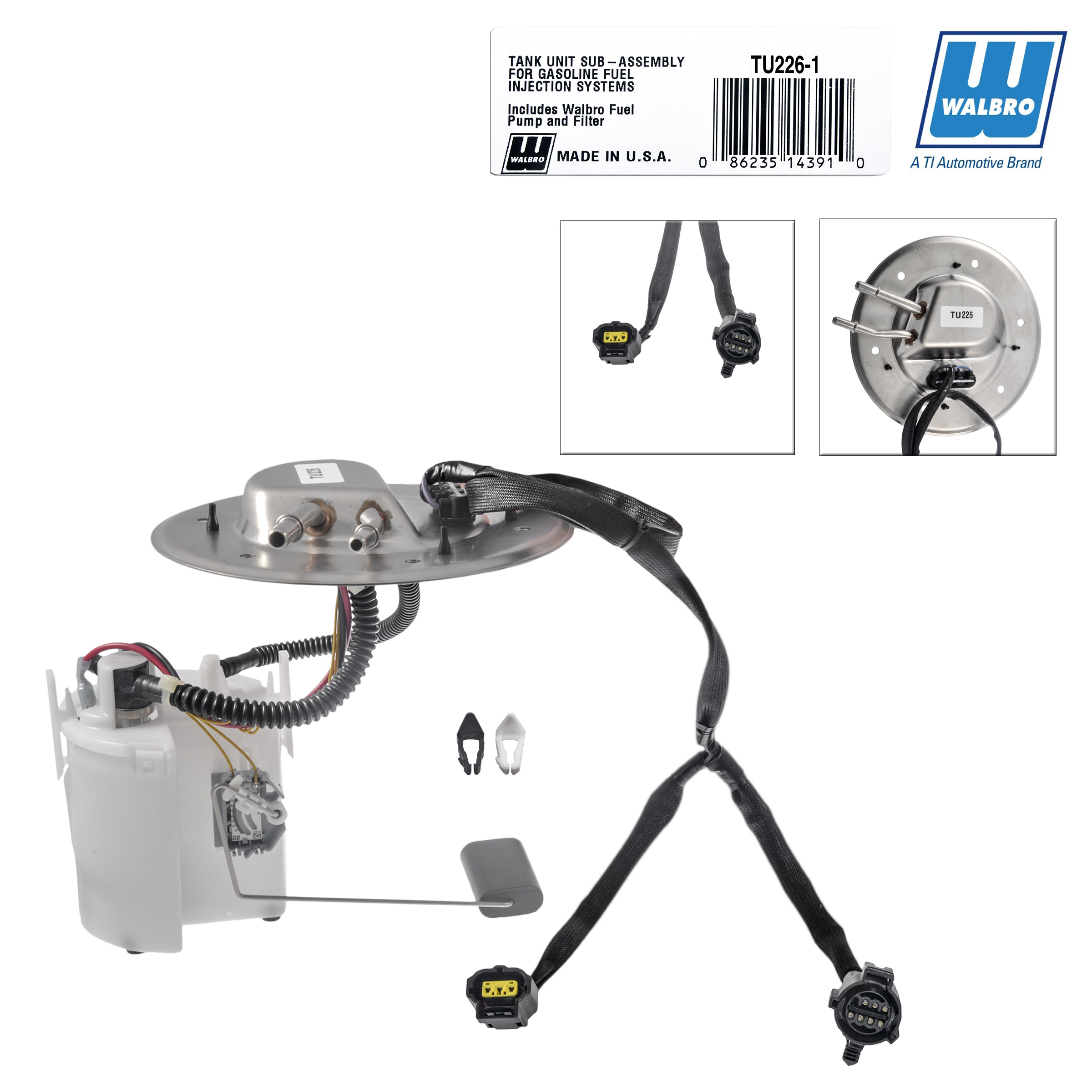 New High Performance Walbro Fuel Module Assembly TU226 Car & Truck Air Intake & Fuel Delivery Parts Auto Parts and Vehicles