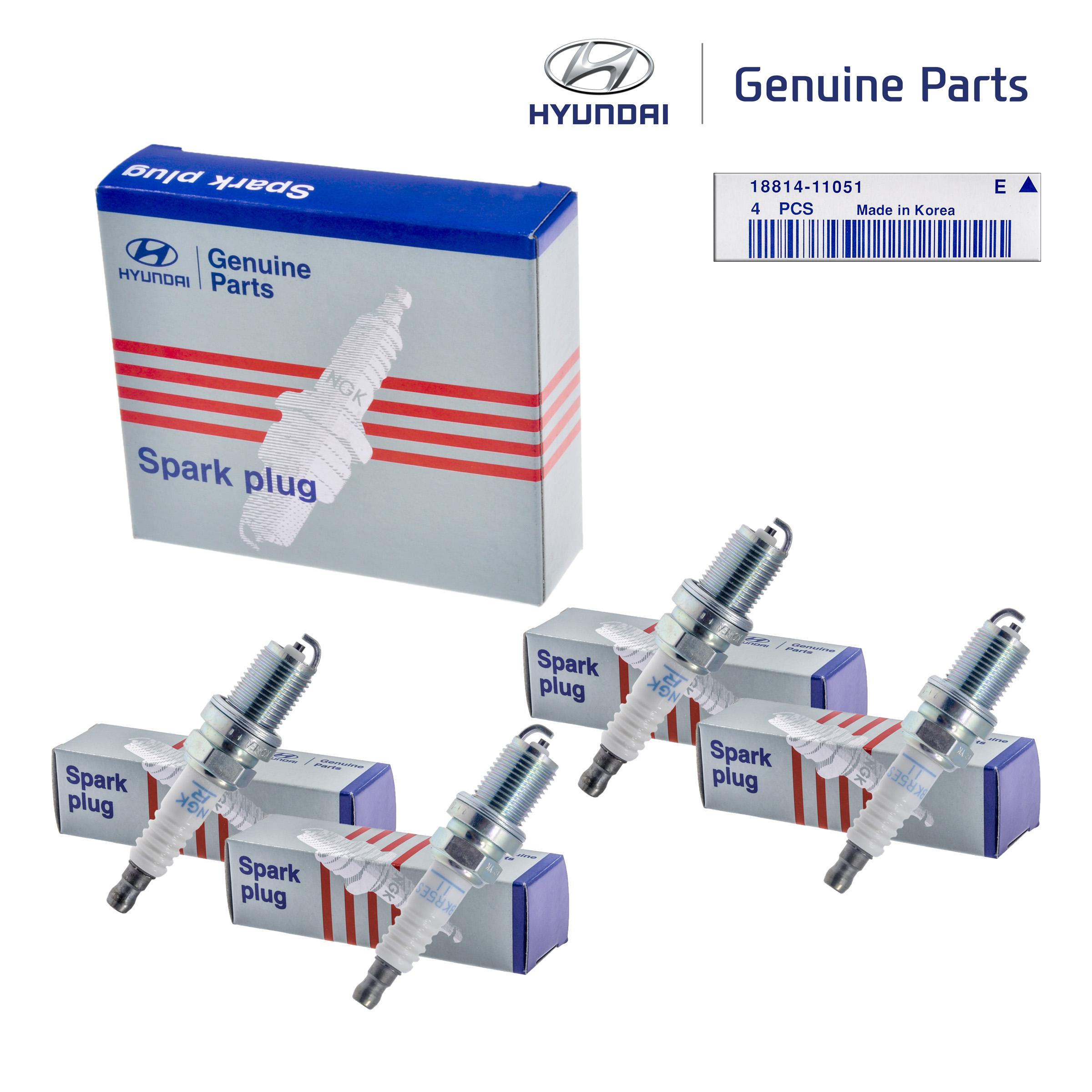 Genuine OEM Spark Plug 18814-11051 For Hyundai//Kia 1993-2011