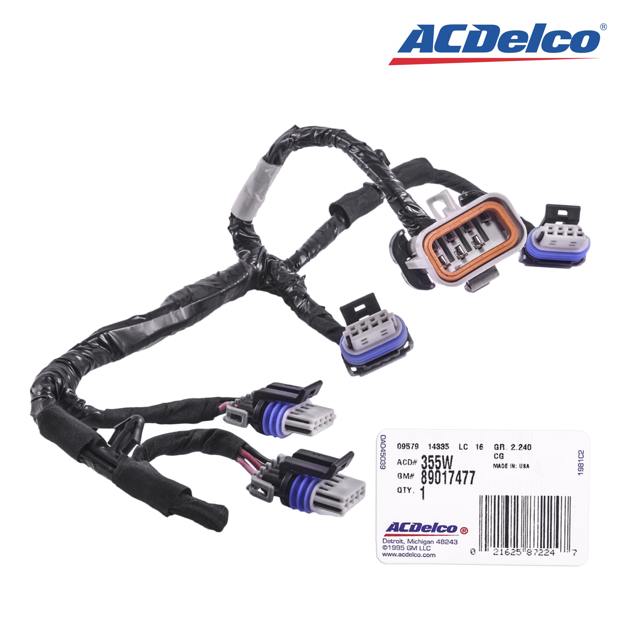 Coils Wiring Harness Gm on obd2 to obd1 jumper harness, gm wiring alternator, gm wiring connectors, gm alternator harness, radio harness, gm wiring gauge,